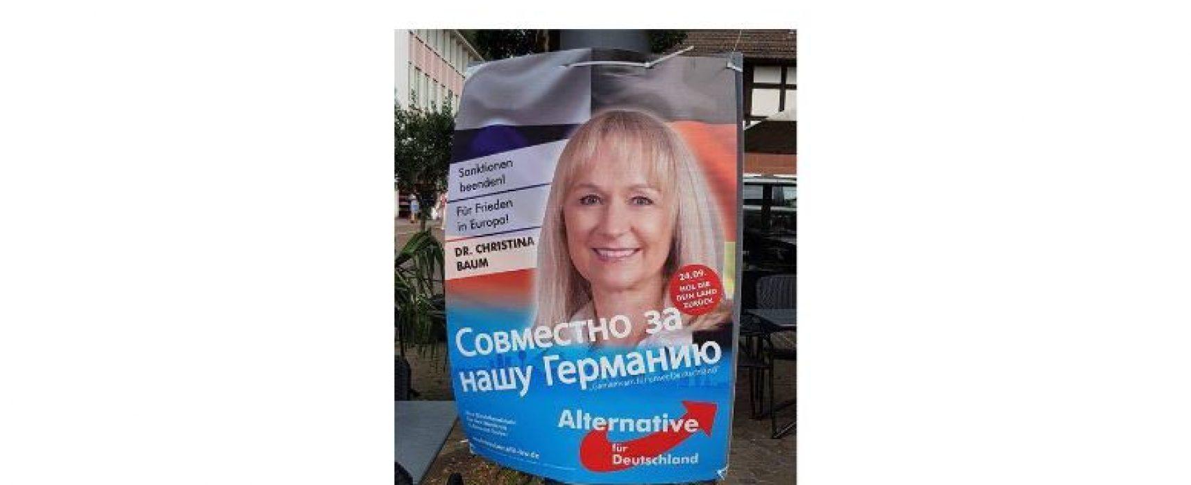 Russischsprachige im Fokus: Wie Russland und die AfD Einfluss nehmen
