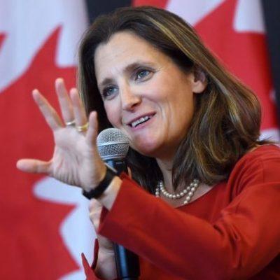 """Фейк на """"Первый"""" канал: Външната министърка на Канада е криела за нацисткото минало на дядо си"""