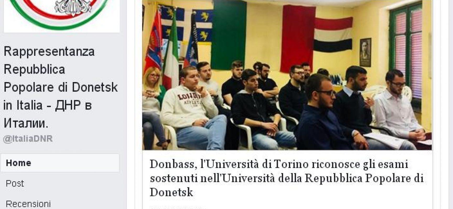 Fake : L'Università di Torino riconosce i diplomi della DNR