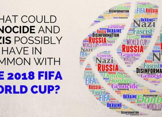 Ключевые слова дезинформации: «геноцид», «фашисты» и «Чемпионат мира по футболу»