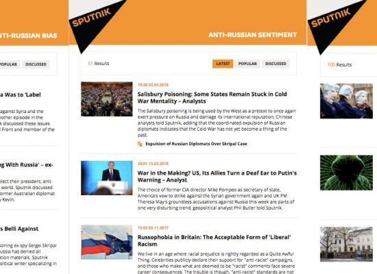 #PutinAtWar: How Sputnik Secures Russia's Interests