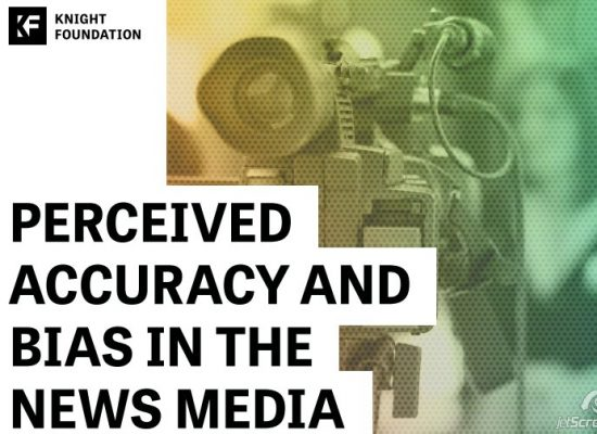Perceived accuracy and bias in the news media