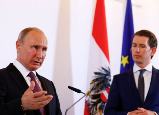 TASS omits key comments by the Austrian chancellor, putting a positive Russian spin on his meeting with Putin