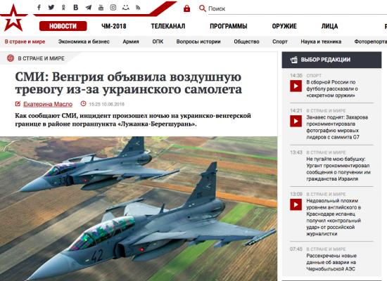 Fake: Ungarn war bereit ukrainisches Verkehrsflugzeug abzuschießen