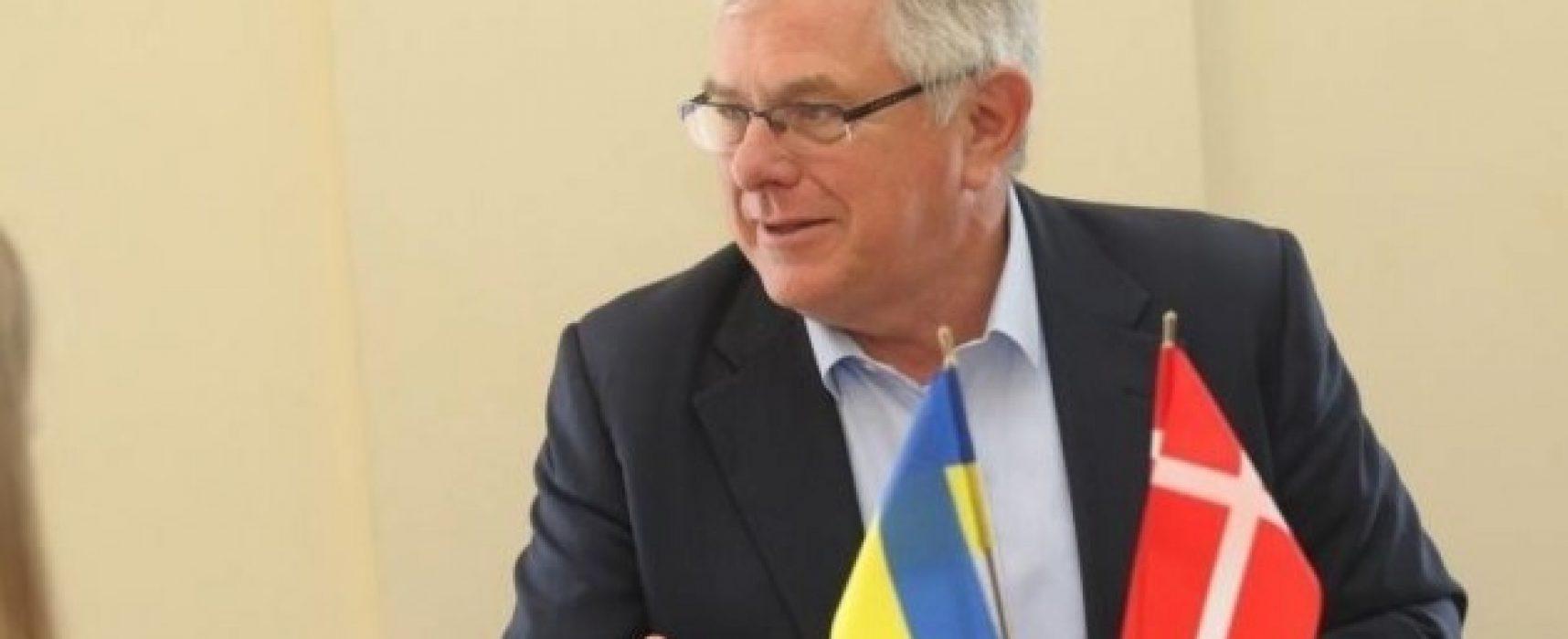 Embajador de Dinamarca en Ucrania: Las reformas exitosas son la mejor respuesta a la desinformación rusa