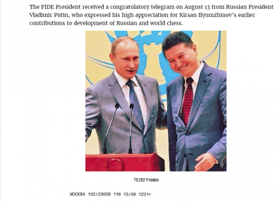 Kremlin plans to replace fraud Ilyumzhinov with slick Dvorkovich in chess world