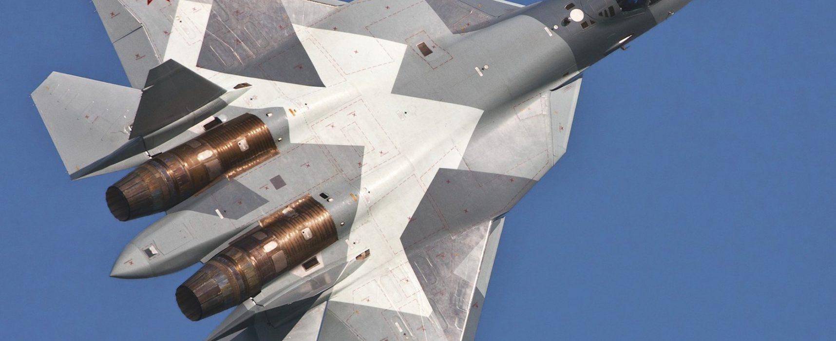 Фейк: в США признали превосходство российского истребителя Су-57 над американским F-35
