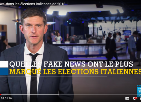 L'influence modeste des «fake news» dans les élections italiennes