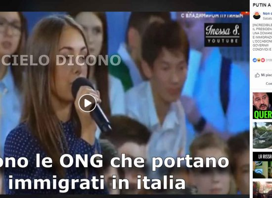 Fake : Video falso contro le ONG