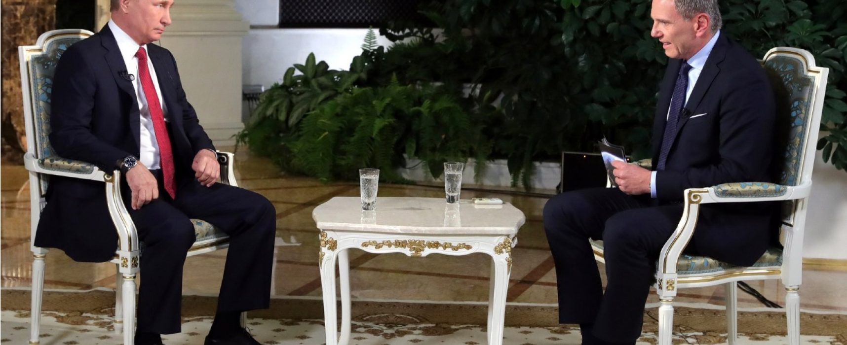 """""""Има такъв фигурант – господин Сорос…"""". 10 примера как Путин излъга австрийския журналист"""