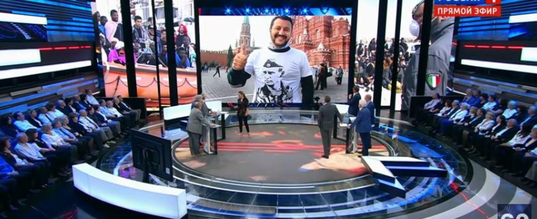 Salvini rappresenta gli interessi italiani o russi ?