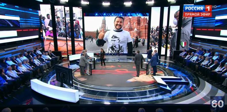 salvini tv russa