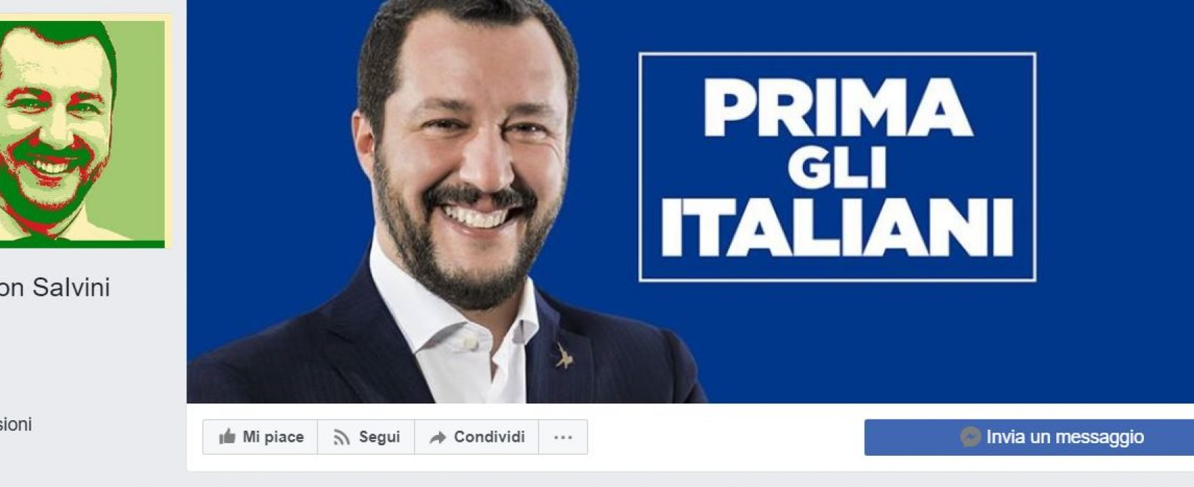 Fake : Noi con Salvini pubblica un'intervista a Putin taroccata