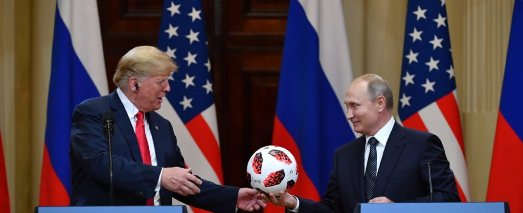At the Helsinki Summit, Putin Claims Military Coordination Avoids Danger — the Record Proves Otherwise
