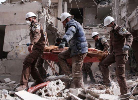 Андрей Остальский: Спасение «Белых касок»
