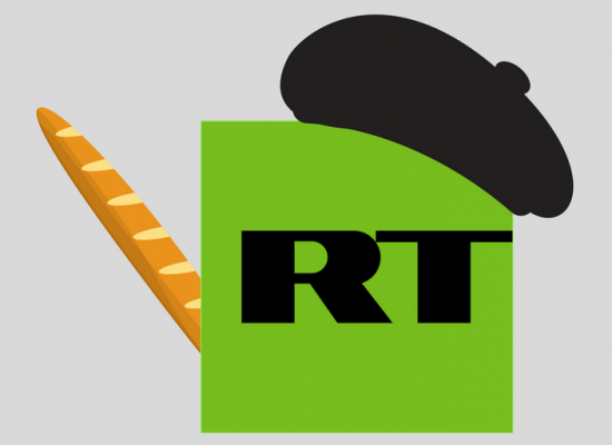 In France, RT is getting no love