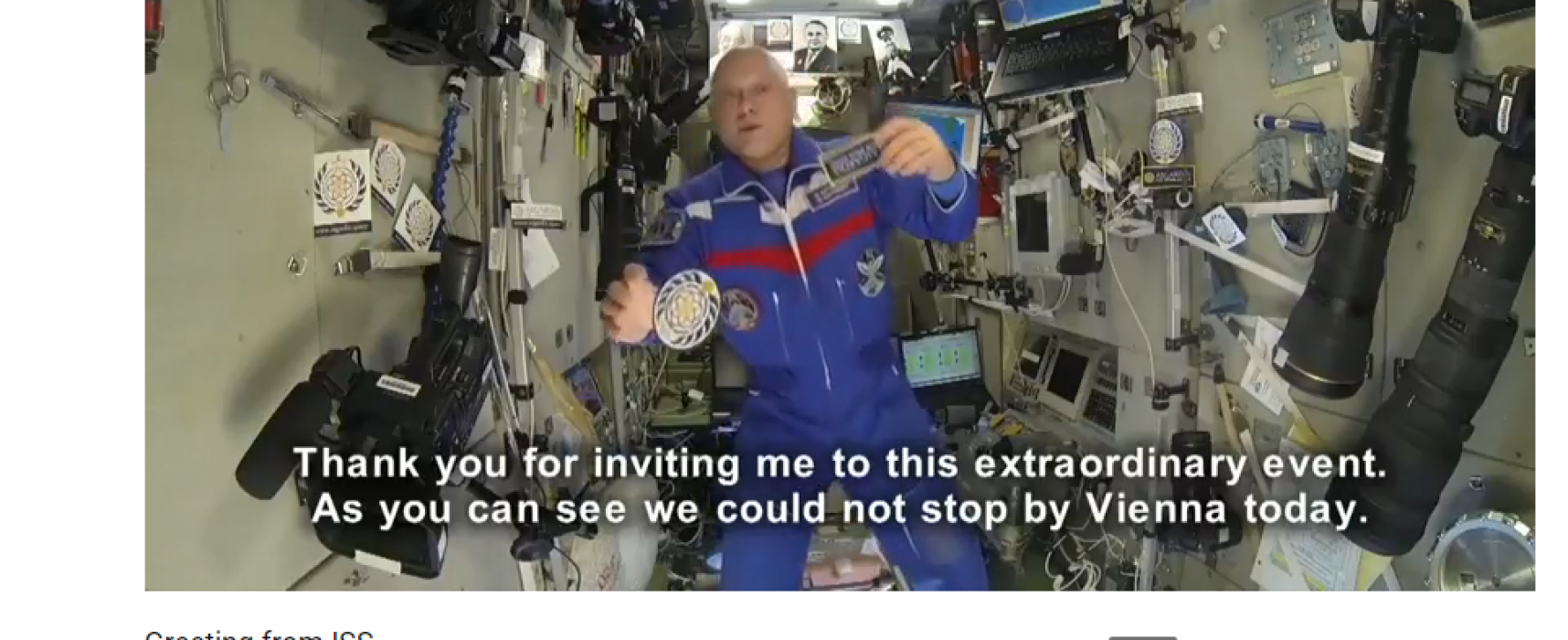 """Russian arms manufacturer leads gullible citizens of """"space nation"""""""