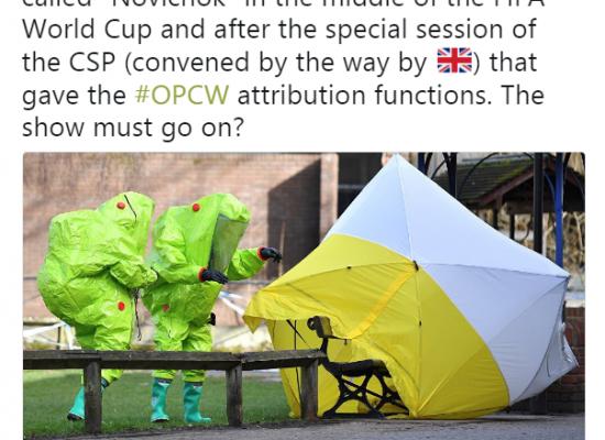 Russland entfesselt Flut alternativer Fakten im Amesbury-Vergiftungsfall