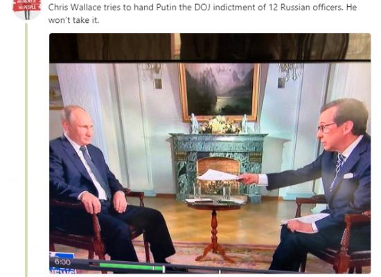 Las mentiras de Putin en la entrevista tras la cumbre con Trump no sirven de mucho para este último
