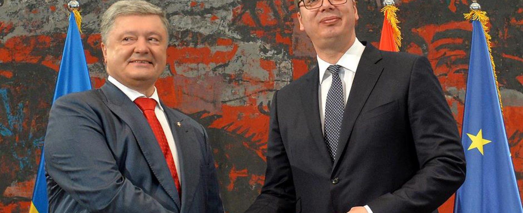 Vasović: Poseta Porošenka bez najave, to je već stav vlasti