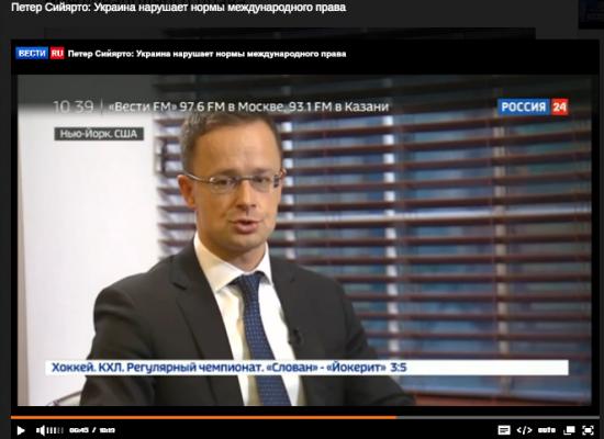 Фейк: Керівник МЗС Угорщини відкрито пригрозив Україні військами НАТО