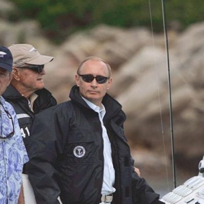 Would Visiting the U.S. Help Vladimir Putin 'Humanize' His Adversary? Fact: Putin Visited Nine Times