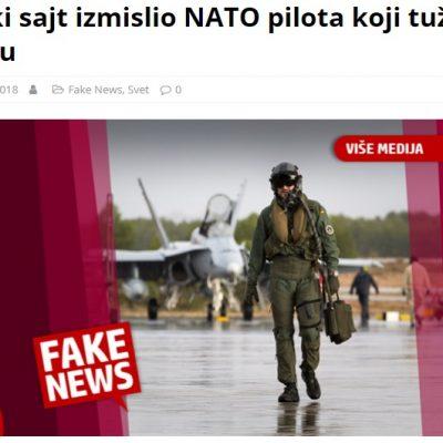 Ruski sajt izmislio NATO pilota koji tuži Srbiju