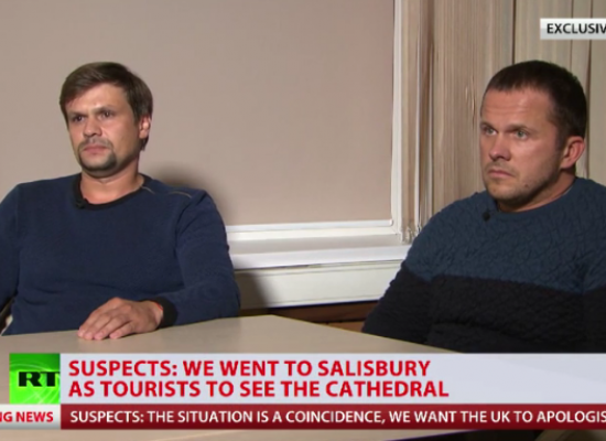 "Salisbury suspects number one in top 10 ""worst hits"" of Russian TV"