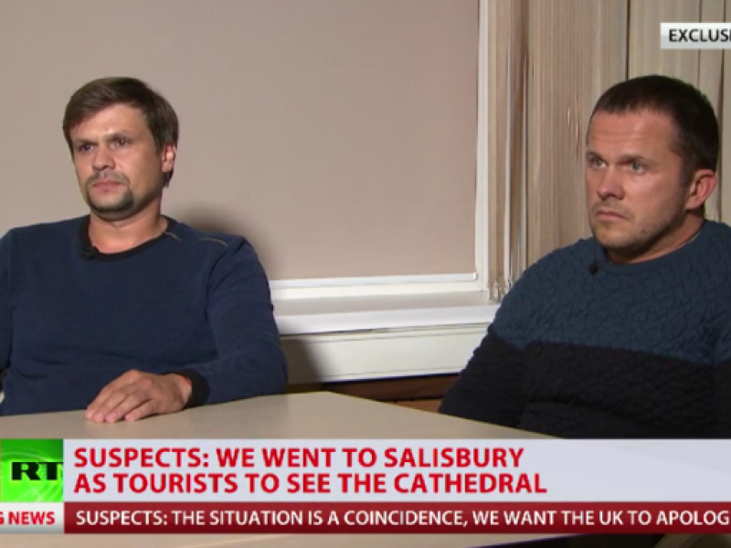 """Salisbury suspects number one in top 10 """"worst hits"""" of Russian TV"""