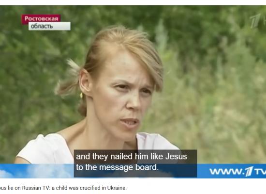 Top 10 de las peores mentiras de la televisión rusa