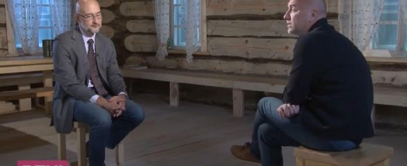 Запрещенный Нацсоветом канал RTVI взял интервью у Прилепина о Захарченко