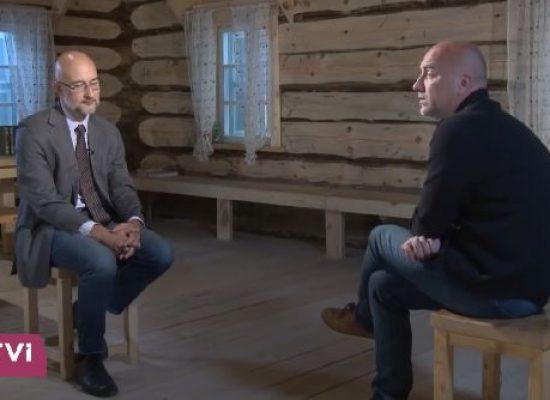 Заборонений Нацрадою канал RTVI взяв інтерв'ю у Прилєпіна про Захарченка