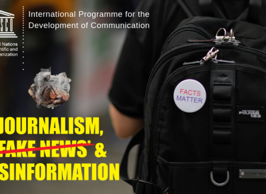 Journalism, 'fake news' and disinformation: A handbook for journalism education and training