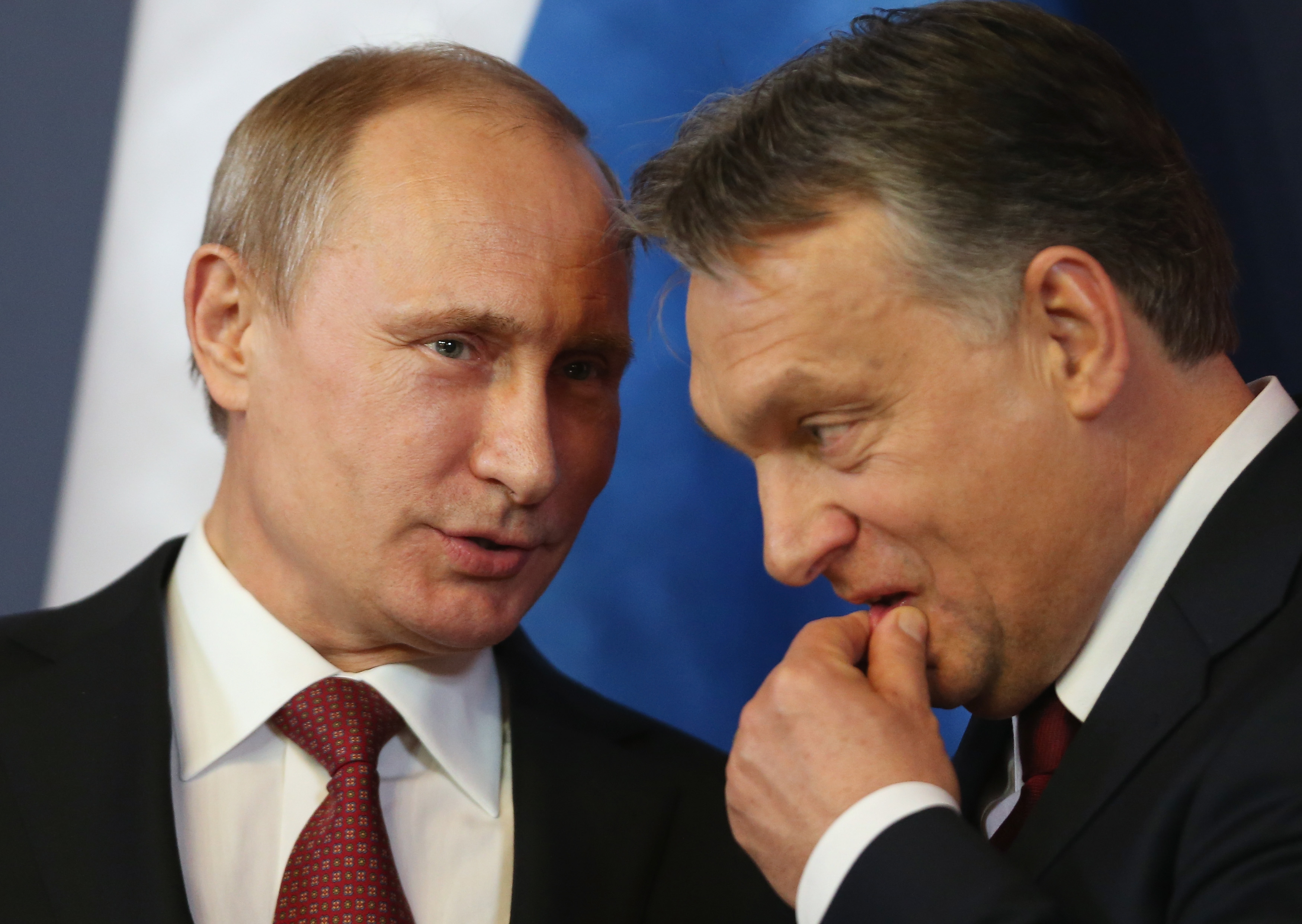 Vladimir Putin e Orban