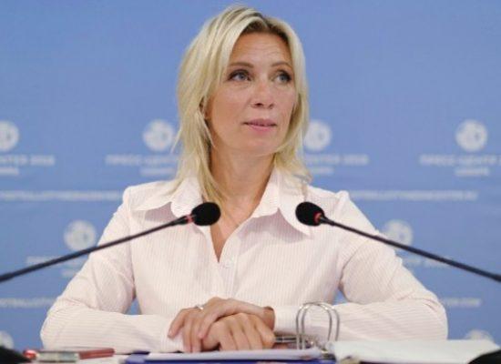 Fake by TASS: Zacharowa otrzymała międzynarodowe wyróżnienie za wybitne osiągnięcia w dziedzinie PR