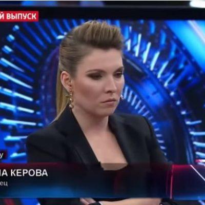 """W programie stacji telewizyjnej """"Rosja-1"""" przeprowadzono wywiad z dziewczyną, która zginęła w trakcie strzelaniny w Kerczu"""