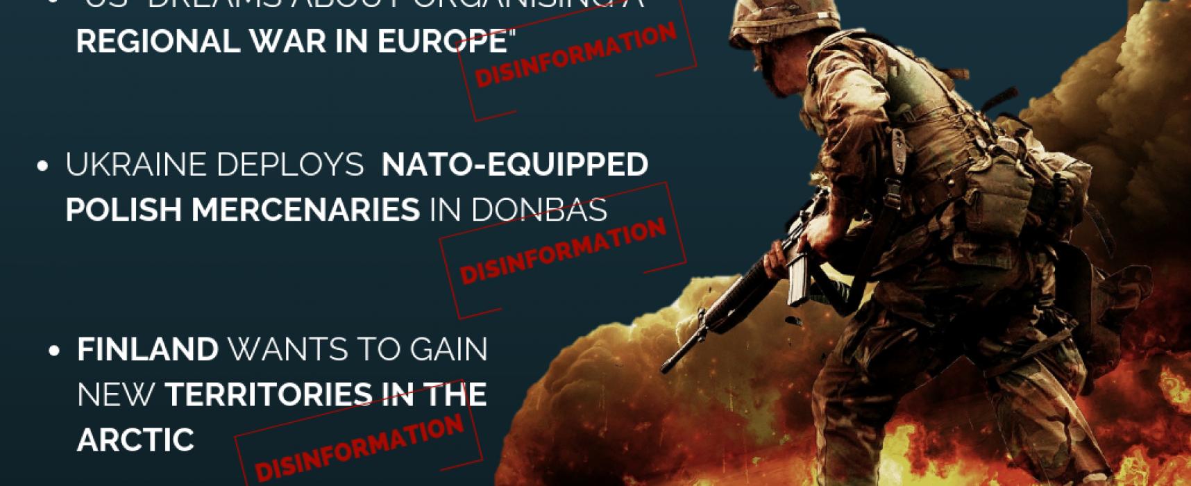 TOP 3 der Möglichkeiten zur Verbreitung von Desinformationen über Militärübungen
