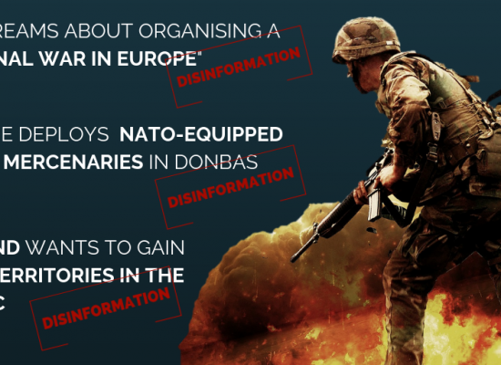 TOP 3 ways to spread disinformation about military exercises
