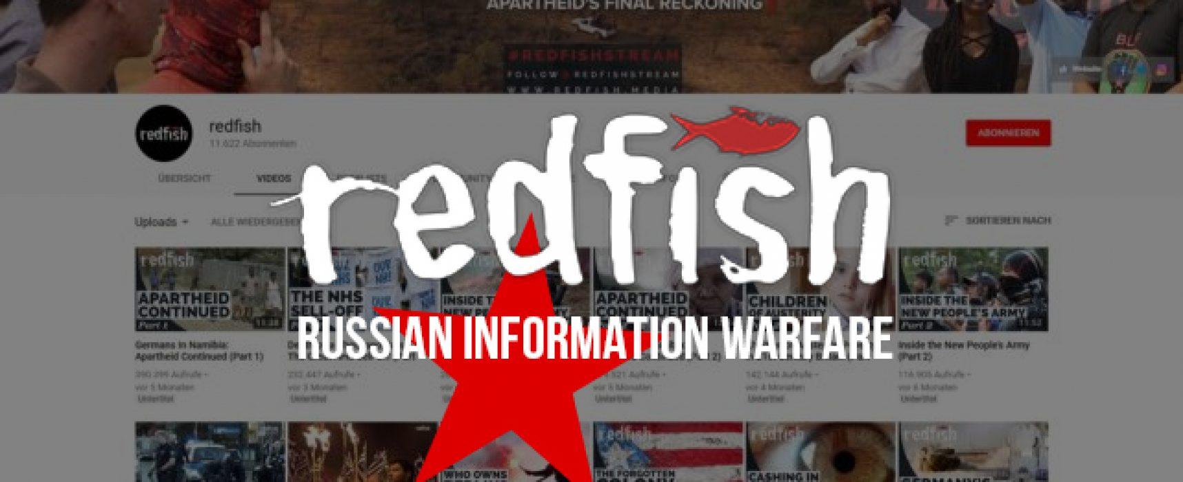 Redfish: как российские СМИ плывут против западного медиатечения