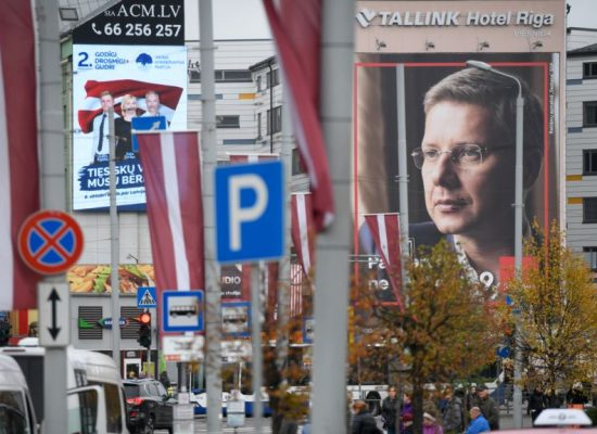 Did a 'pro-Russian' party win big in Latvia?