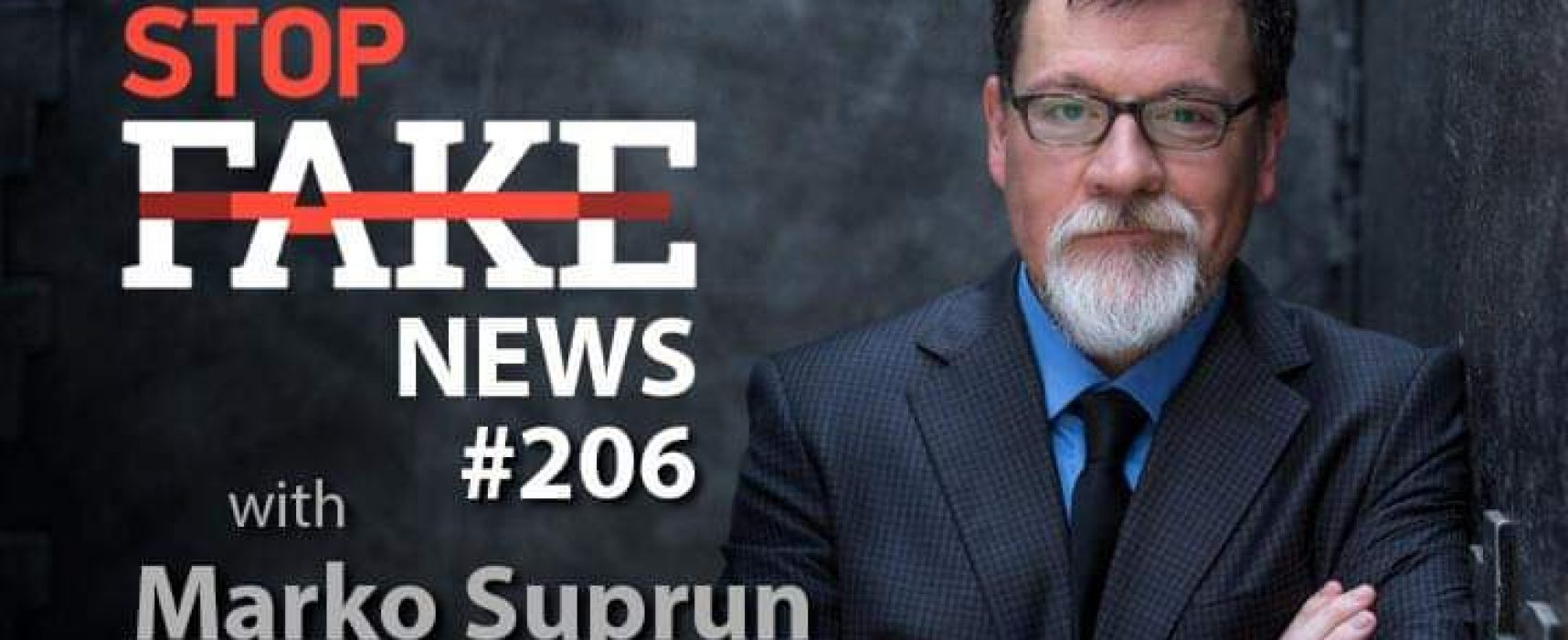 StopFake News #206 with Marko Suprun