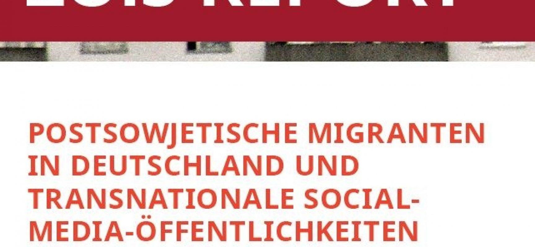 Tatiana Golova – Postsowjetische Migranten in Deutschland und transnationale Social-Media-Öffentlichkeiten