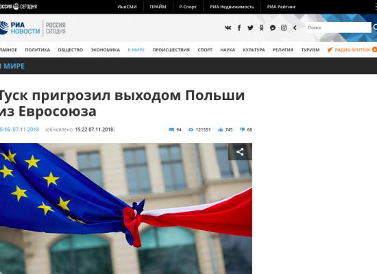 Fake: Polska wychodzi z Unii Europejskiej