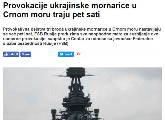 Kriza na Azovskom moru – Beogradska hronika dezinformacija
