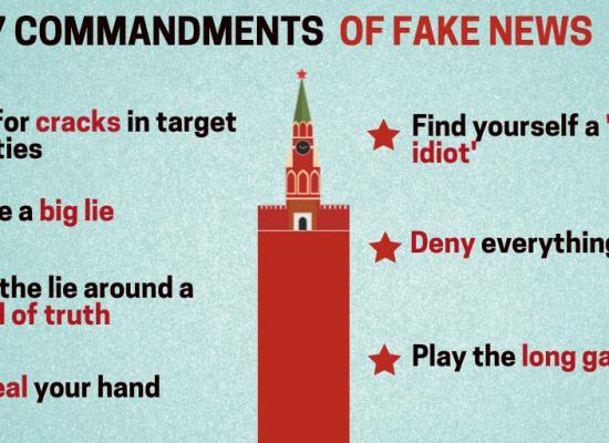 Seven Commandments of Fake News – New York Times exposes Kremlin's methods