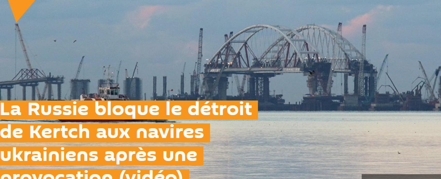 Fake: «Des navires ukrainiens ont violé l'espace maritime russe»