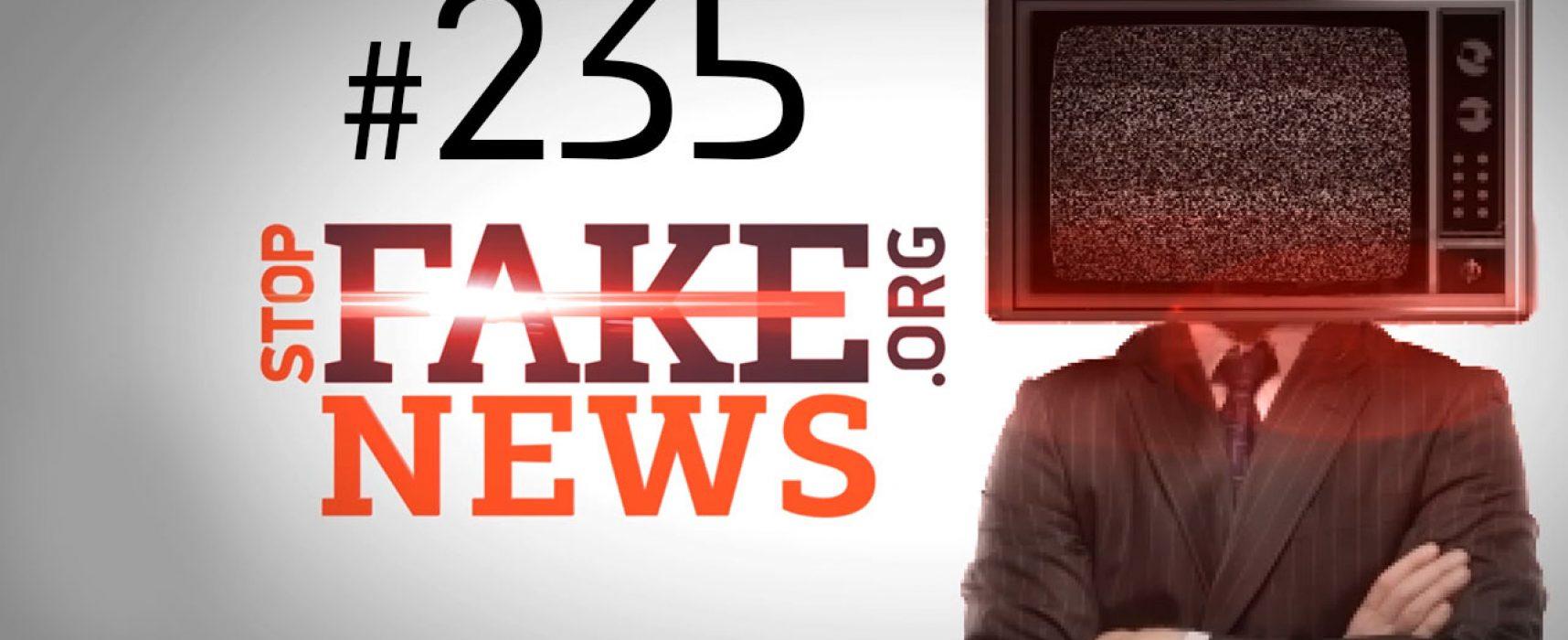Hajlujące dzieci pod Kijowem – nowy fake o ukraińskim obowie patriotycznym – SFN #235