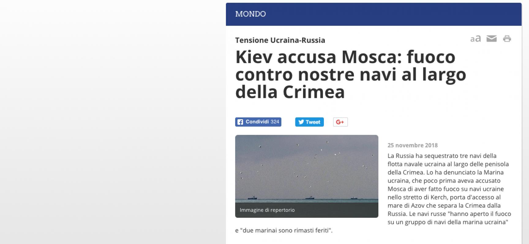 Fake: Rainews24, Mariupol città della repubblica filo russa di donetsk