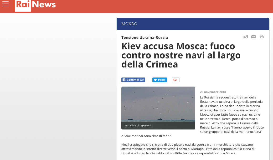 Fake Rainews24 Mariupol