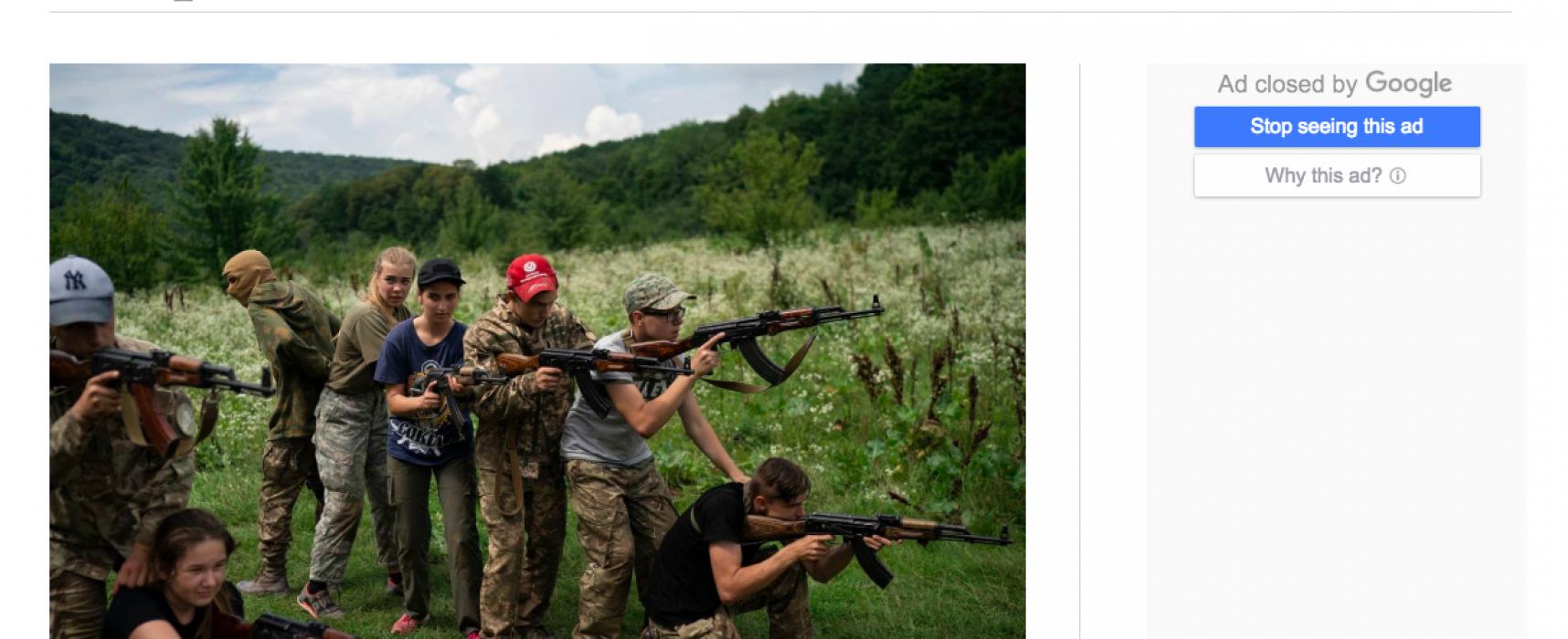 Fake: Ukrajinské ministerstvo financuje radikální nacionalistické organizace